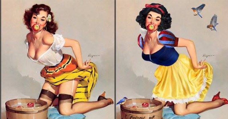 pin up Gil Elvgre