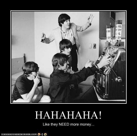 celeb,demotivational,funny,Music,the Beatles