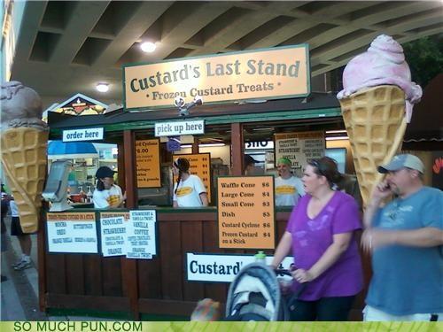 bighorn cone custard delicious delicious treats Minnesota puns stand - 3943663360