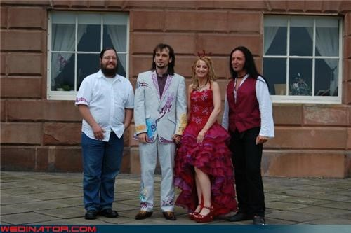 confusing wedding Crazy Brides crazy groom fashion is my passion funny wedding photos is-this-a-wedding-picture peculiar wedding tacky suit tacky wedding dress were-in-love wedding party Wedding Themes wtf wtf is this