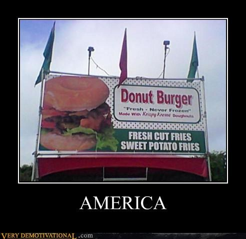 donut burger fried food potatoes Pure Awesome this-is-why-youre-fat unhealthy - 3944790272