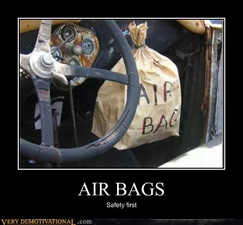 air bag cars danger Kludge not what i meant puns safety Terrifying - 3945182720