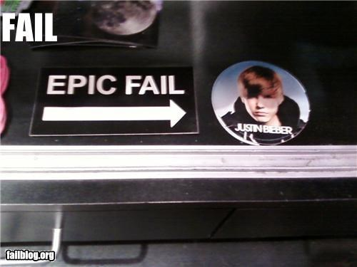 epic fail failboat g rated justin bieber placement win - 3945556992