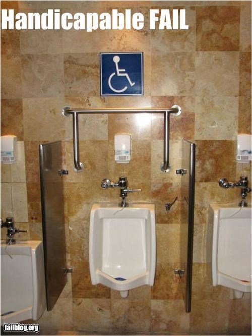 bad idea failboat g rated handicap handles signs toilets - 3945695744