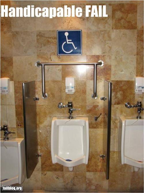 bad idea failboat g rated handicap handles signs toilets - 3945695744
