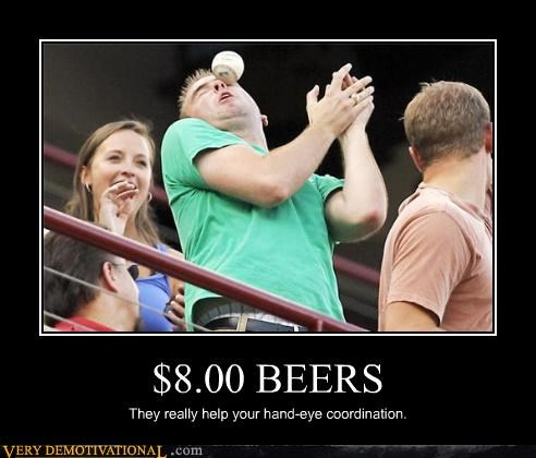 baseball beer face FAIL mean girl Mean People money ouch pain - 3946718720