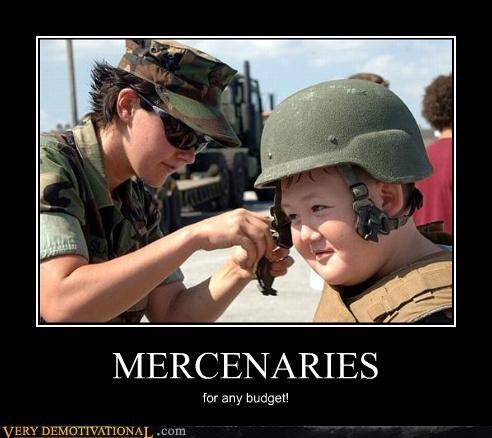 MERCENARIES for any budget!
