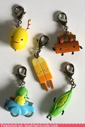 accessory clothing Kidrobot Zipper Pulls - 3948444416