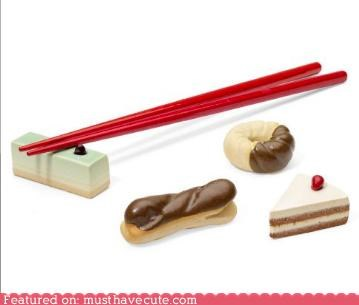 Cute Chopstick Rests,faux food,Kitchen Gadget