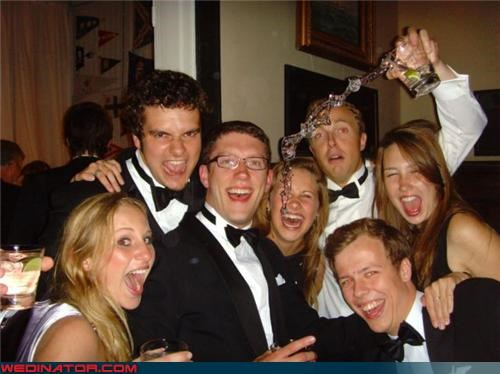 drunk guy in the back,drunk people,funny reception picture,funny wedding party picture,miscellaneous-oops,Most Annoying Guest Award,surprise,technical difficulties,wedding party,whoops