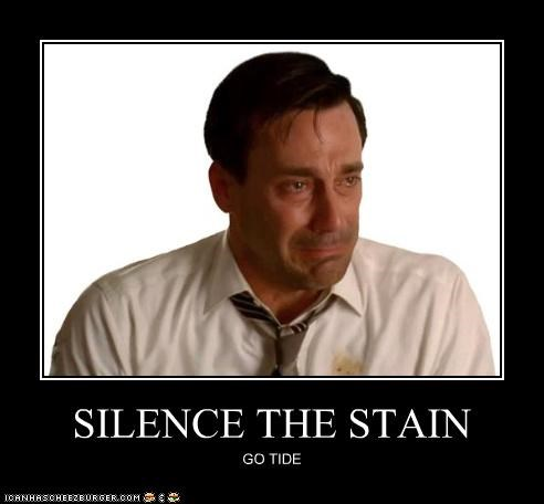 crying Jon Hamm mad men stains tide - 3948892416
