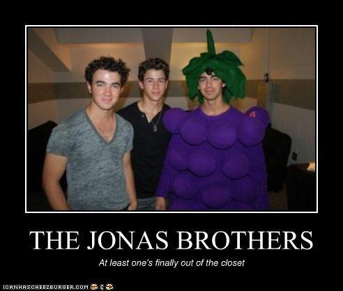 demotivational funny jonas brothers Music - 3948962560