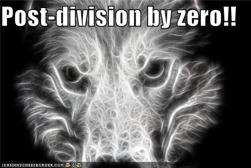 after awesome before divided by zero fractal husky omg wtf