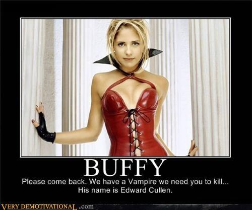 babe Buffy edward cullen Pure Awesome Sarah Michelle Gellar twilight vampires - 3950124032