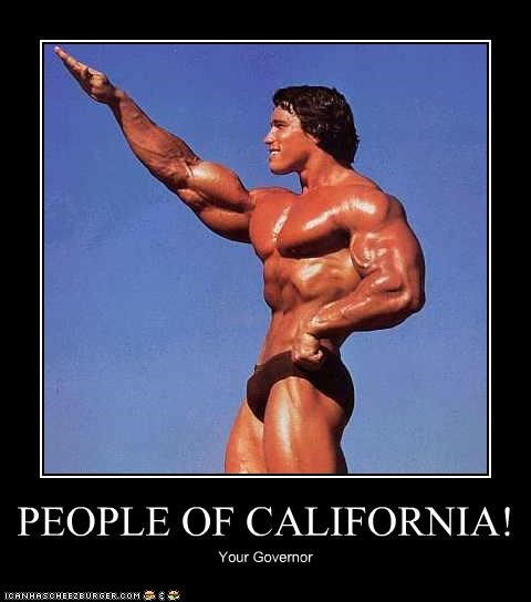 PEOPLE OF CALIFORNIA! Your Governor