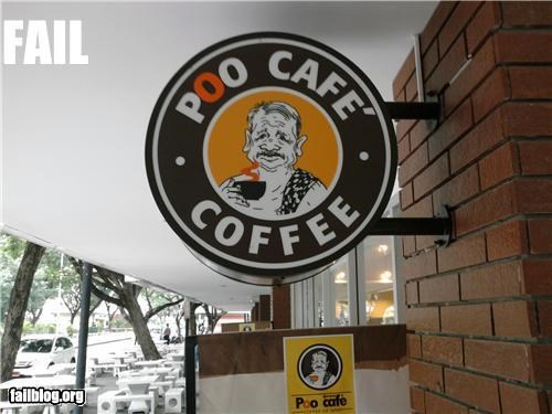 business name coffee failboat g rated names poop signs - 3950987520