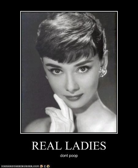 Audrey Hepburn classic hollywood ladies poop real - 3952153600