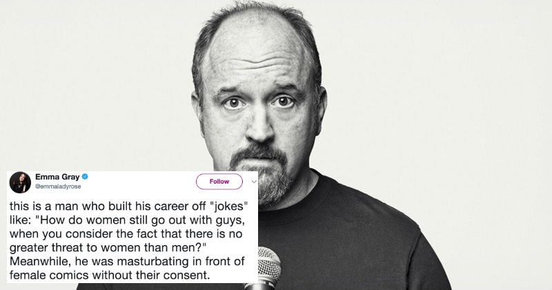 People are sharing the first time they were Louis C.K.'ed on Twitter and the results are terribly sad.