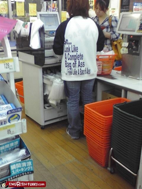 checkout engrish shirt store
