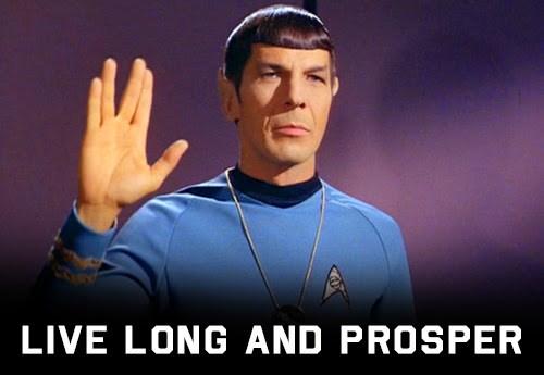 twitter Spock in memorium Leonard Nimoy Star Trek - 395525