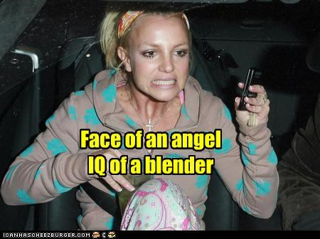 singers britney spears dumb expressions idiots IQ ugly - 3956133632