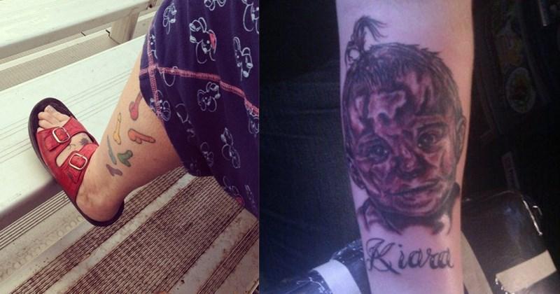tatuajes horripilantes