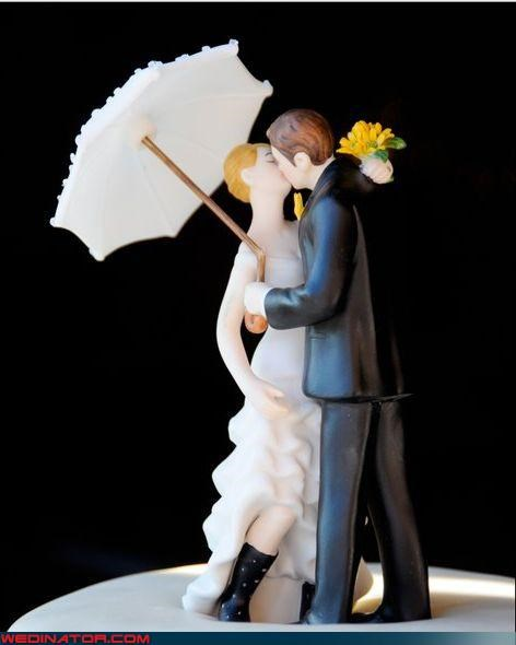 bride cake topper cute cake topper fashion is my passion funny wedding photos groom most adorable wedding cake topper rain boots rain boots bride were-in-love Wedding Themes - 3956912640