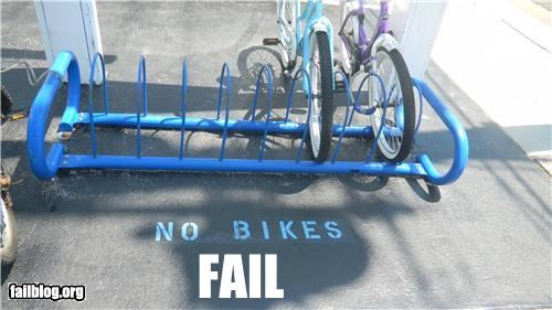bike,bike rack,failboat,g rated,placement,signs