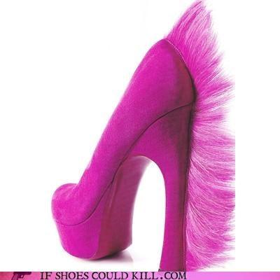 hair high heel jared leto mohawk pink - 3958941440