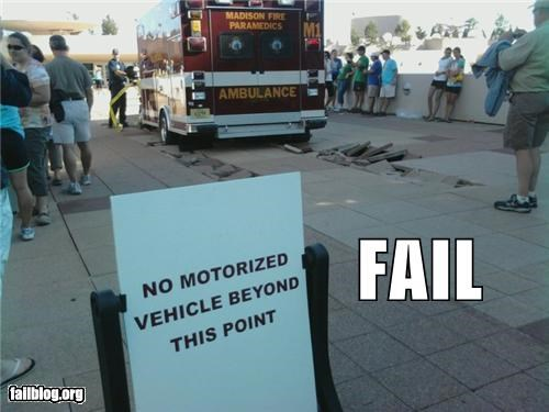 ambulance directions emergencies failboat g rated signs stuck transportation - 3960672768