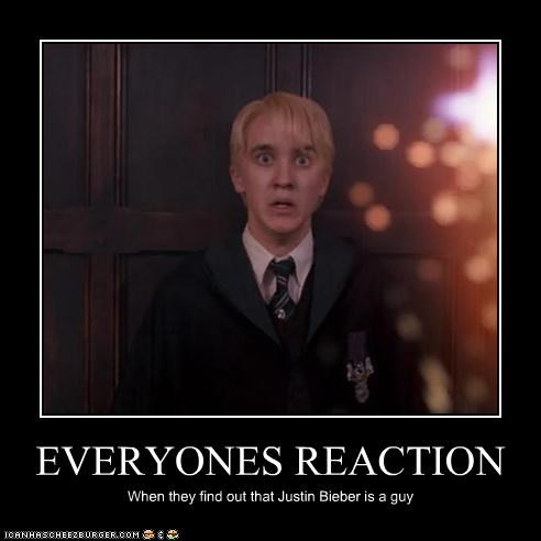 EVERYONES REACTION When they find out that Justin Bieber is a guy