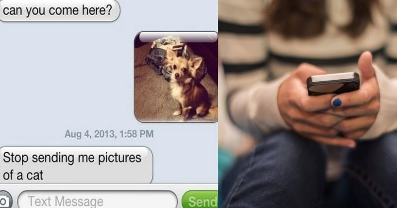 Ridiculous texts from jerks that were met with hilarious, awesome responses.