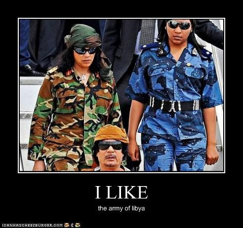 I LIKE the army of libya