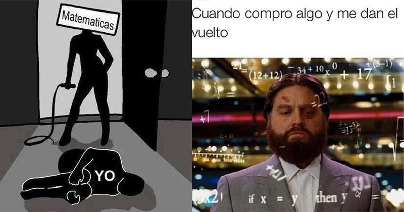 memes retro matematicos