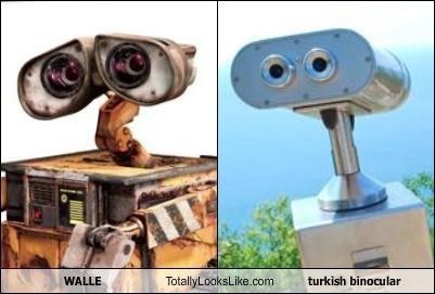 turkish binoculars,wall.e