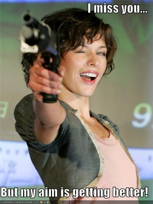 actress gun kill lolz milla jovovich
