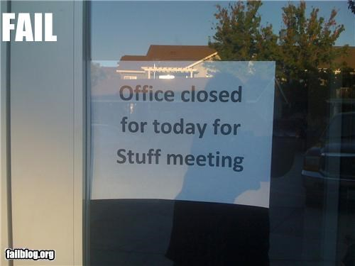 failboat g rated meeting note signs spelling - 3962610432