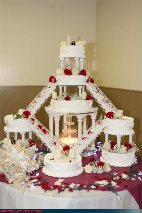 amazing wedding cake chutes and ladders wedding cake Dreamcake funny wedding photos giant wedding cake wedding cake with fountain Wedding Themes - 3963172864
