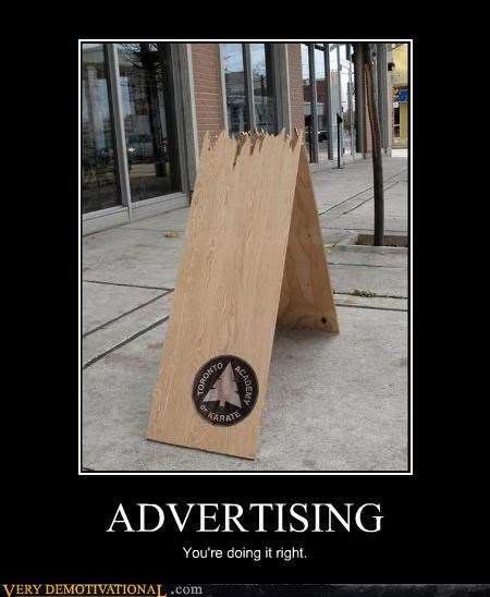 advertising awesome karate pain Terrifying youre-doing-it-right - 3964530432