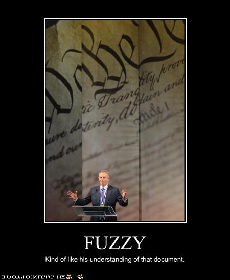 FUZZY Kind of like his understanding of that document.