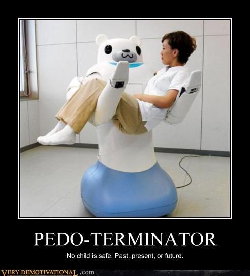 Japan pedobear terminator Terrifying the future wtf - 3966116096