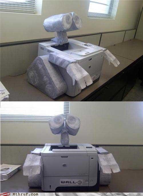 printer,wall.e