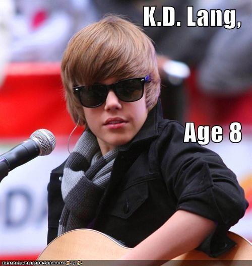 Bieber bieber fever celebrity-pictures-justin-bieber-kd-lang ellen justin bieber michael jackson ROFlash - 3968627456