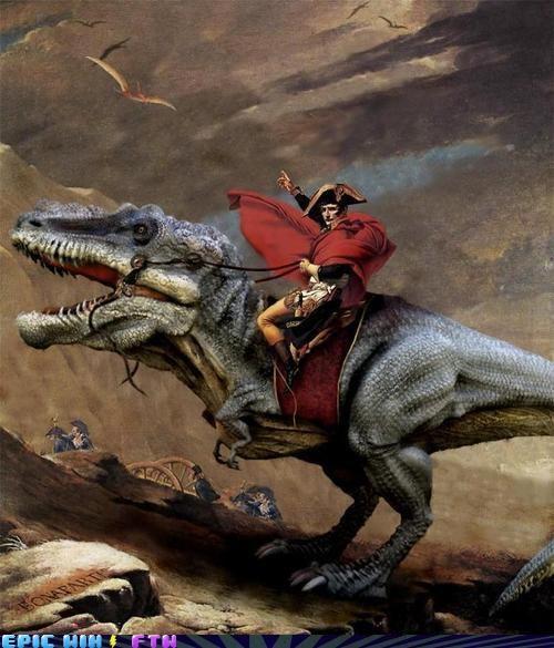 Only l'empereur Gets a Dinosaur