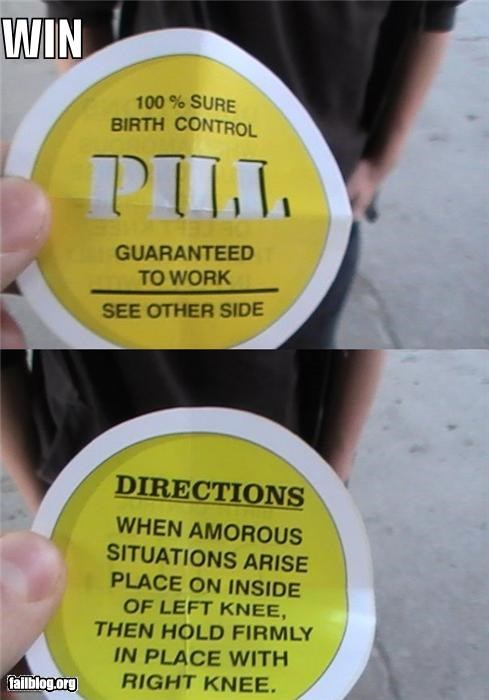 birth control clever effective failboat sex ed stickers win