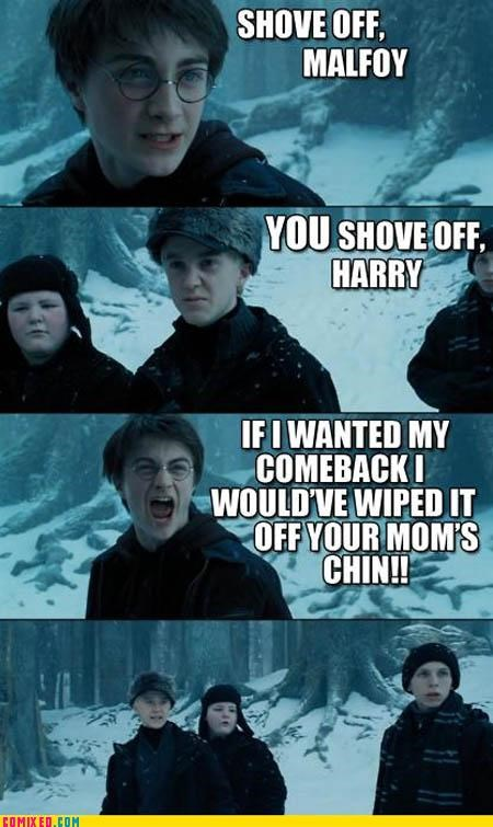 bjs deep From the Movies Harry Potter malfoy oral sex puns - 3969191424