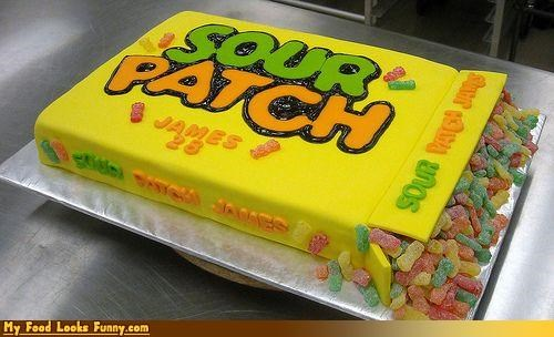birthday box cake candy sour sour patch kids Sweet Treats - 3969888000