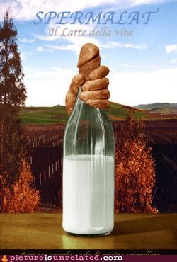 bottle creepy penis sperm wtf - 3970021632