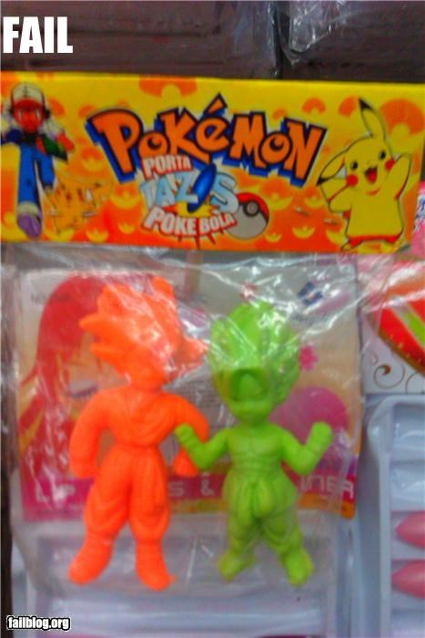 Dragon Ball Z failboat figures g rated Pokémon toys - 3970025472