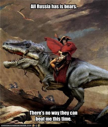 art color dinosaur fake funny historic lols napoleon painting shoop - 3971723520